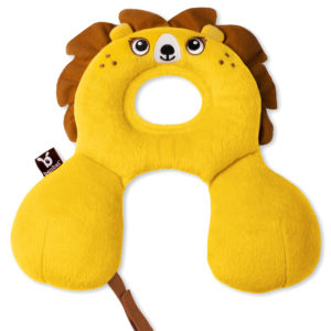 BenBat Neck Support Travel Friends Baby - Lion-0
