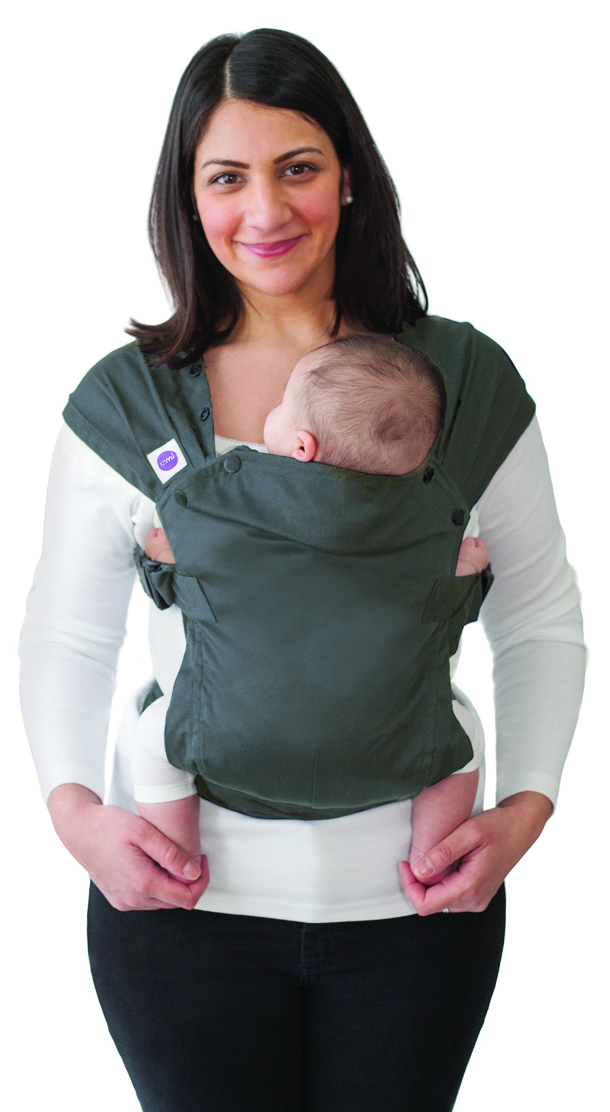 Izmi Baby Carrier - Dark Grey-0