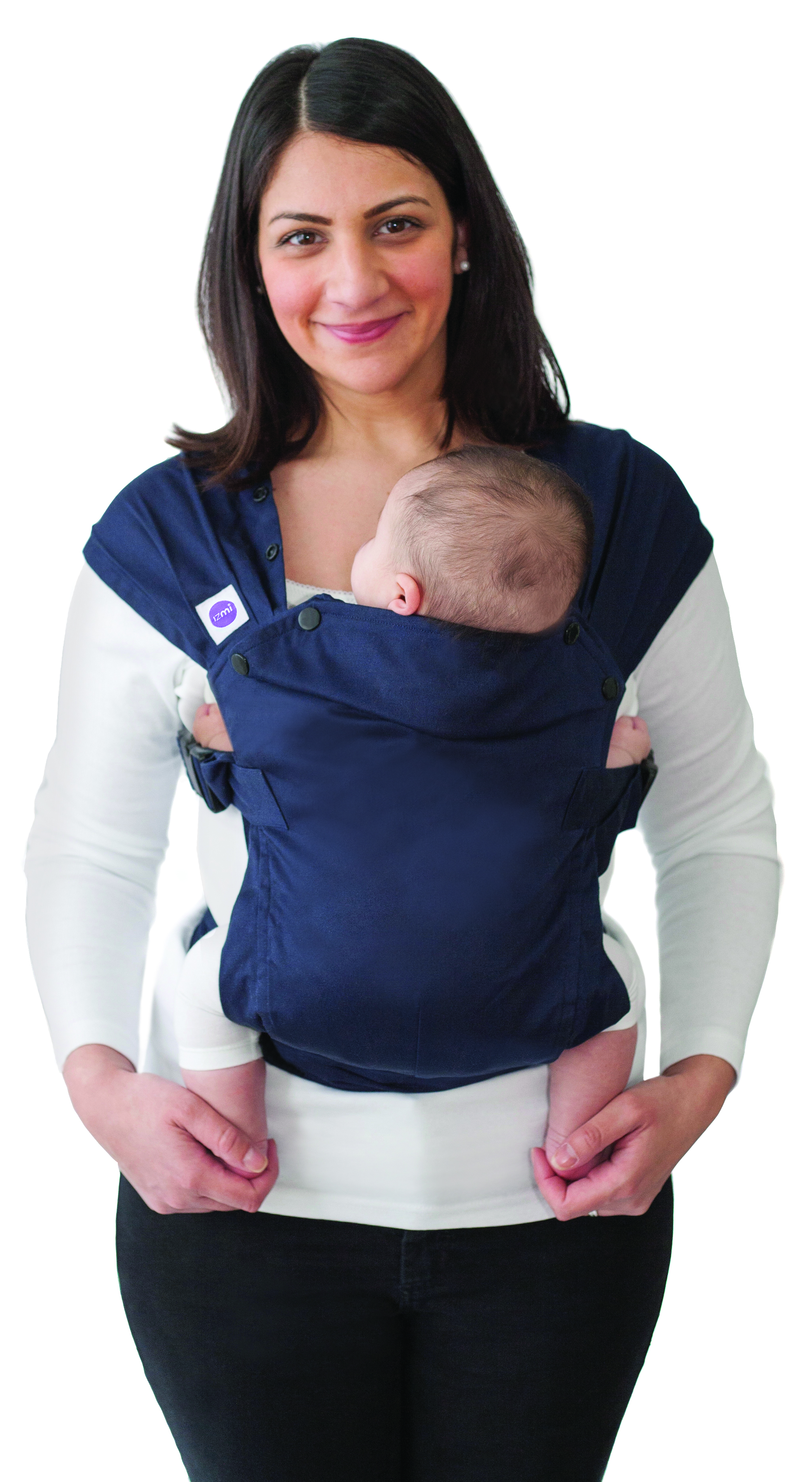Izmi Baby Carrier - Midnight Blue-0