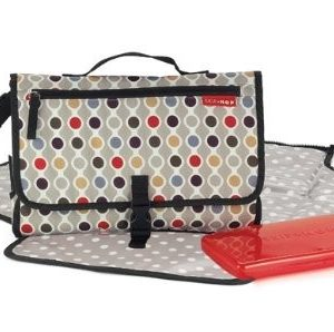 Skip Hop Pronto Designer Changing Diaper Bag Small Wave Dot-0