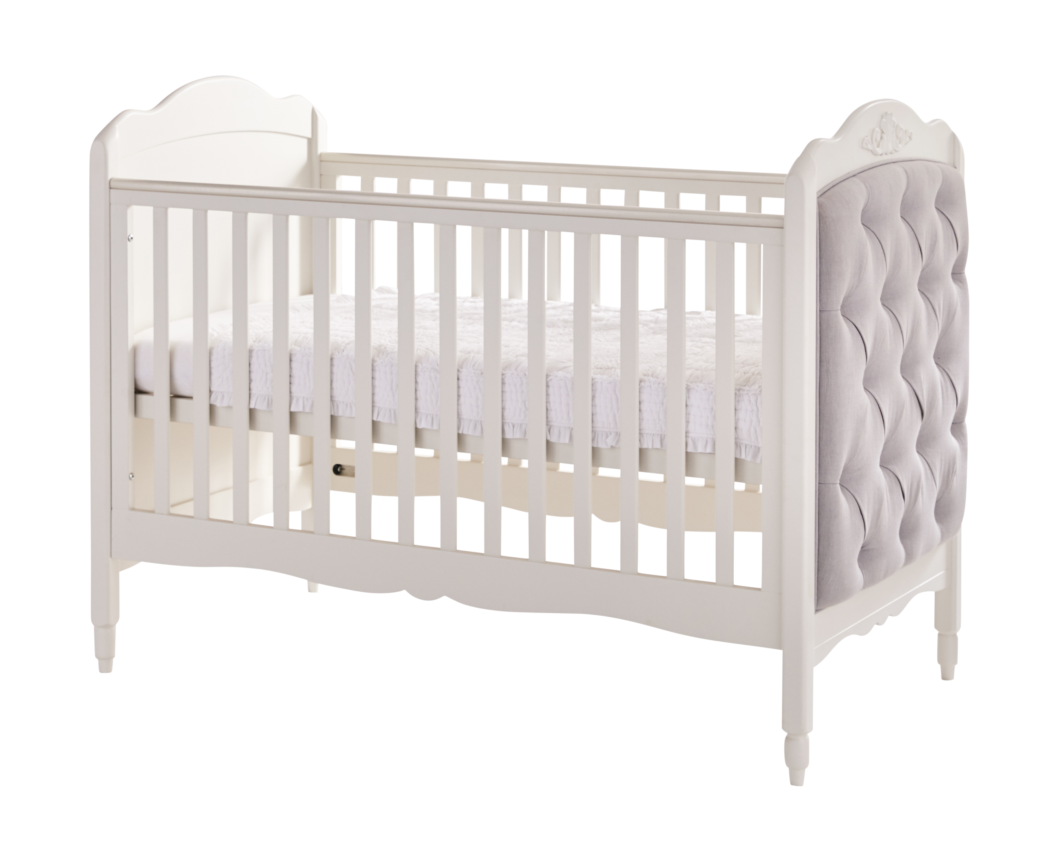 Mee-go Epernay Cot Bed with extra Junior bed padded End | Yummy Kids ...