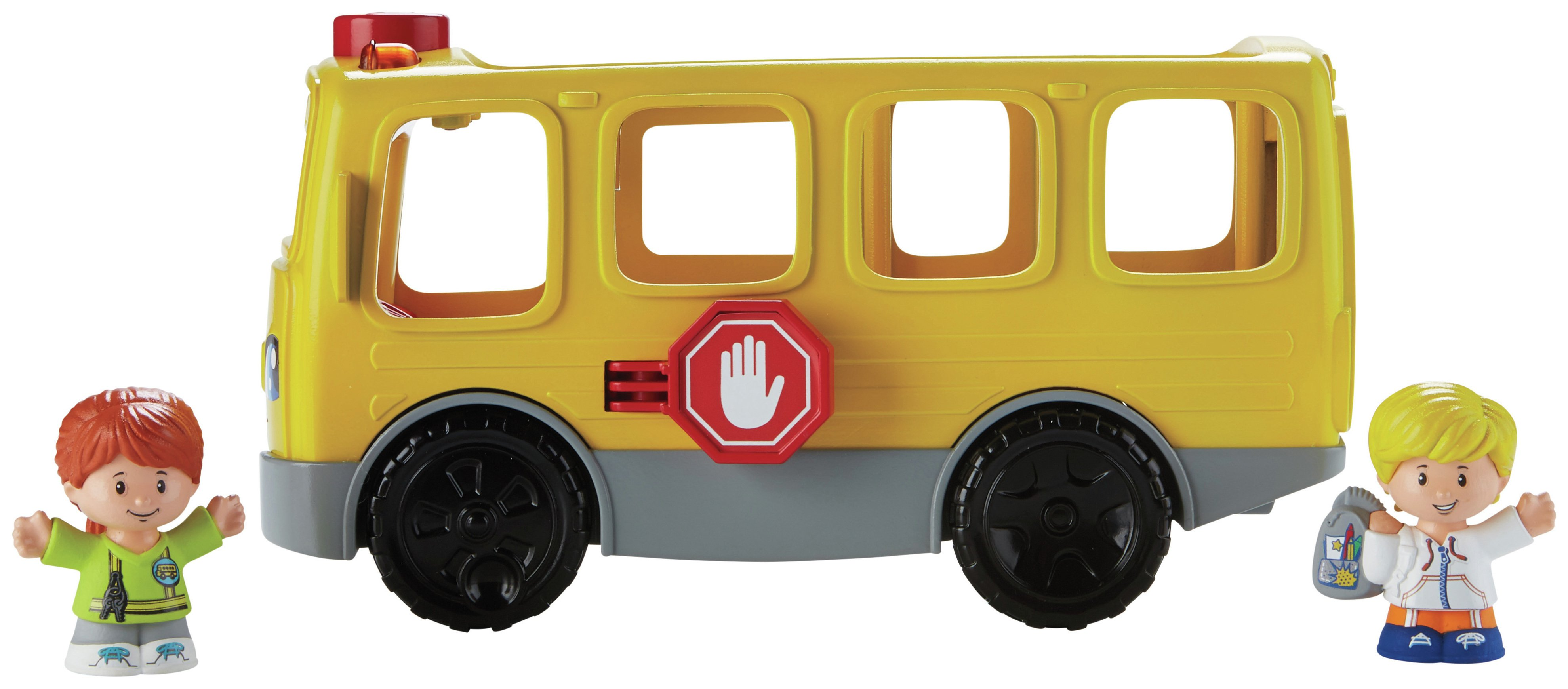 Fisher-price Little People Sit With Me School Bus Activity Toy ...